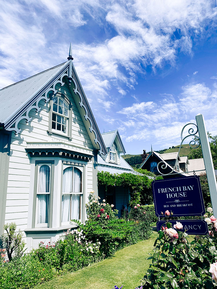 Akaroa, a french gem in the south of New Zealand